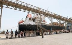 الصورة: الأمم المتحدة تتعهد بالضغط لمنع التسرب النفطي في اليمن