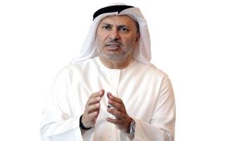 الصورة: قرقاش: الإمارات تتطلع إلى قمة الرياض بكل تفاؤل وأمل