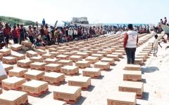 الصورة: مساعدات غذائية إماراتية لـ 3600 أسرة في الحديدة خلال نوفمبر
