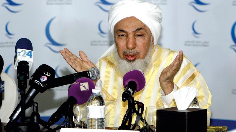 الشيخ عبدالله بن بيه:  «حان الوقت لاعتبار التسامح إلزاماً دينياً وواجباً  إيمانياً وأخلاقياً».