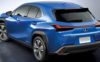 الصورة: «لكزس» تدخل عصر السيارات الكهربائية  مع «UX 300e»