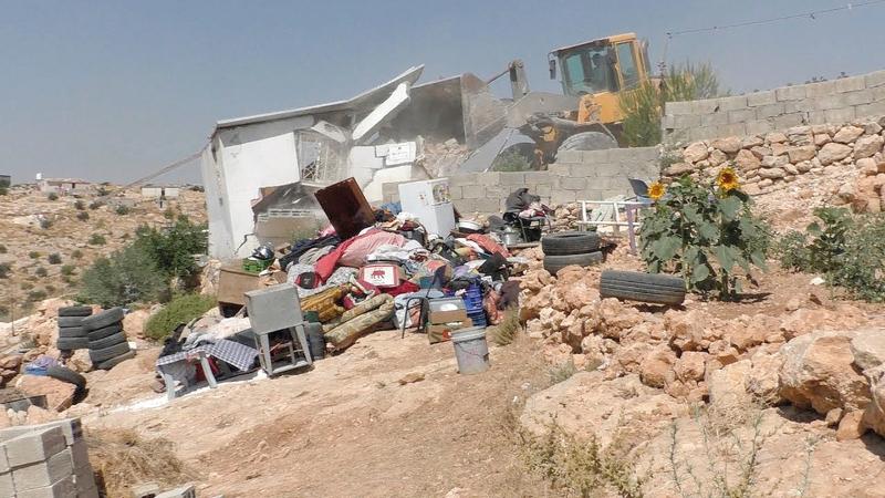 الاحتلال شرد عشرات المقدسيين بعد هدم منازلهم. من المصدر