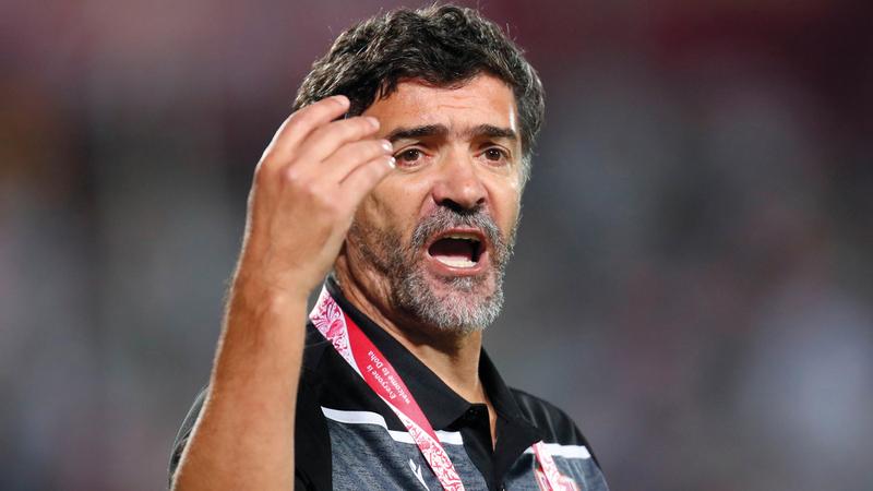 البرتغالي هيليو سوزا :  مدرب منتخب البحرين