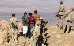 الصورة: قبائل سنحان تنتفض ضد الحوثي فـي صنعاء وتسيطر على جبل «قانع» الاسـتراتيجي