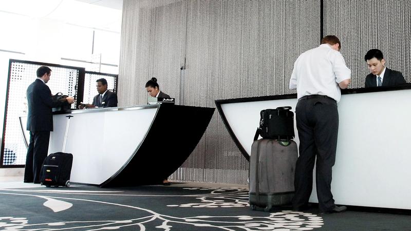 السوق الفندقية في دبي تمتاز بالتنوّع الكبير. أرشيفية