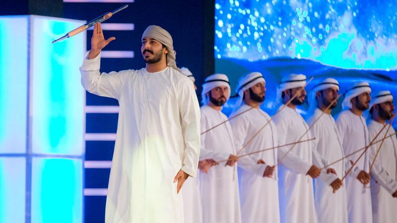 محمد عبدالله نال العلامة 48 بعدما قدم عرضاً لافتاً. من المصدر