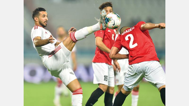 المنتخب فاز على اليمن 3- صفر في «خليجي 24». من المصدر