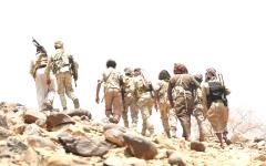 الصورة: القوات المشتركة تكبـد ميليشيات الحوثي خسائر فادحة في الساحل الغربي