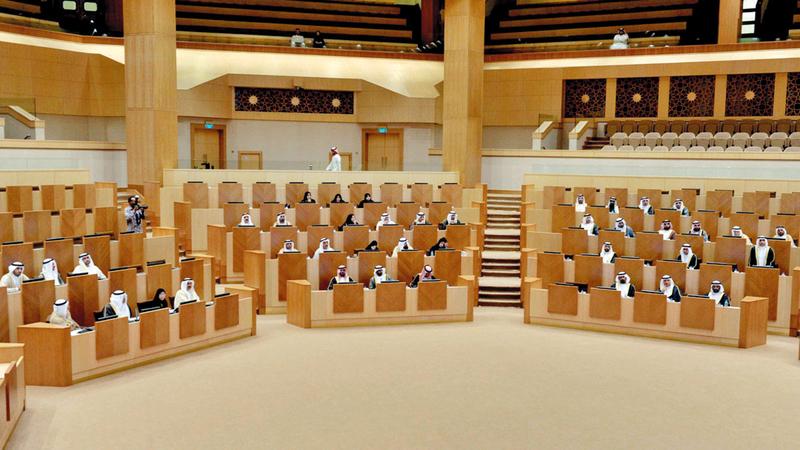 مناقشات المجلس تطرقت إلى القضايا التي تلامس المواطنين. الإمارات اليوم