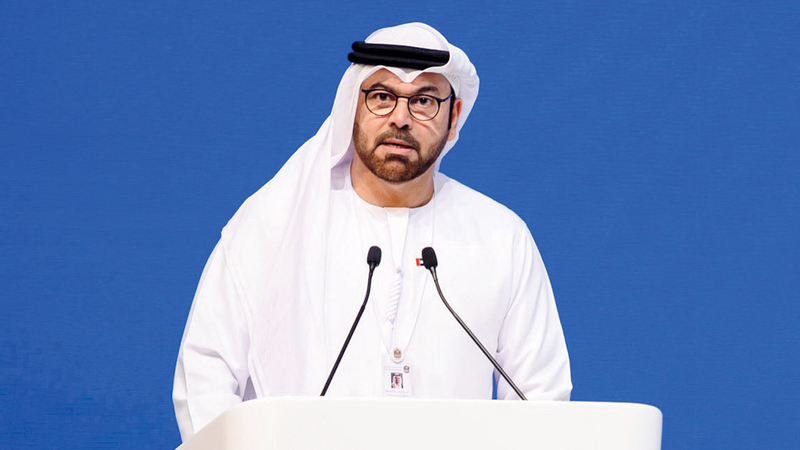محمد القرقاوي: «التقرير يدعم قدرة صناع القرار على توجيه عملهم، بما يناسب جميع الاحتمالات المستقبلية».