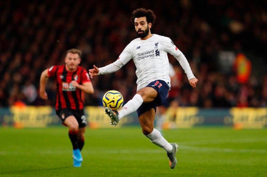 محمد صلاح يصل لمباراته رقم 100 في الدوري الإنجليزي الممتاز
