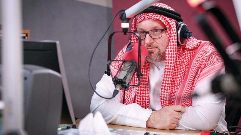 حسان: أحلم بصناعة فيلم وثائقي عن الراب العربي. من المصدر