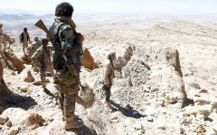 الصورة: مقتل قيادات حوثية في صعدة والـضالع  وإب إثر هجمات للجيش اليمني والتحـالـف