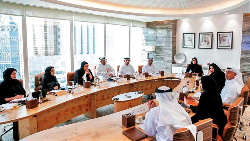 المجلس أول جهة اتحادية حكومية من نوعها في العالم لتعزيز التوازن بين الجنسين.  من المصدر