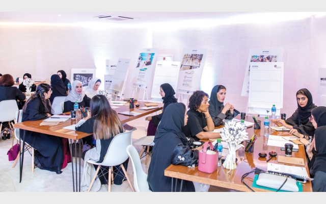 الصورة: «حوار المبدعات».. منصة تحتفي بتألق المرأة الإماراتية