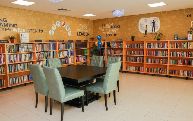 الصورة: مكتبة جديدة تشجع على القراءة في «الحضيبة»