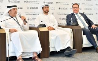3.8 مليارات درهم استثمارات التوسعات الجديدة في «ميناء خليفة»