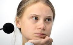 الصورة: «تايم» تختار ناشطة المناخ غريتا تونبرغ «شخصية العام»