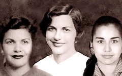 الصورة: «الأخوات ميرابال».. 3 جميـلات وراء مــواجهة العالم لتعنيف المرأة
