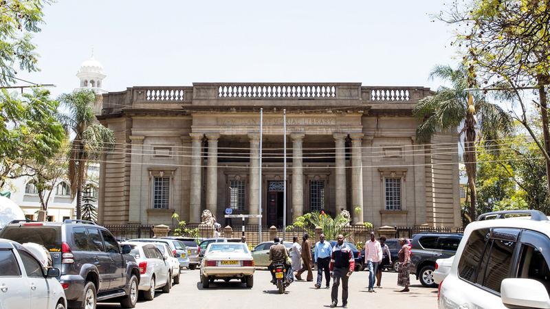 «مكتبة ماكميلان التاريخية» إحدى أشهر المكتبات في القارة الإفريقية بقلب العاصمة الكينية نيروبي.  من المصدر