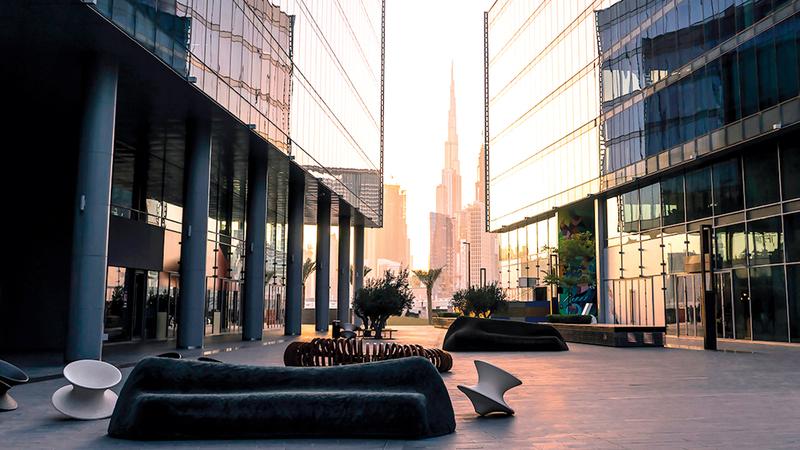 حي دبي للتصميم يستضيف الفعالية. من المصدر