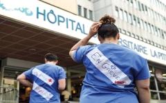 الصورة: مئات الأطباء في فرنسا يهدّدون بالاستقالة