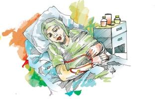 الصورة: متبرعة تسدد 94.5 ألف درهم كلفة علاج كيماوي لـ «ريما»