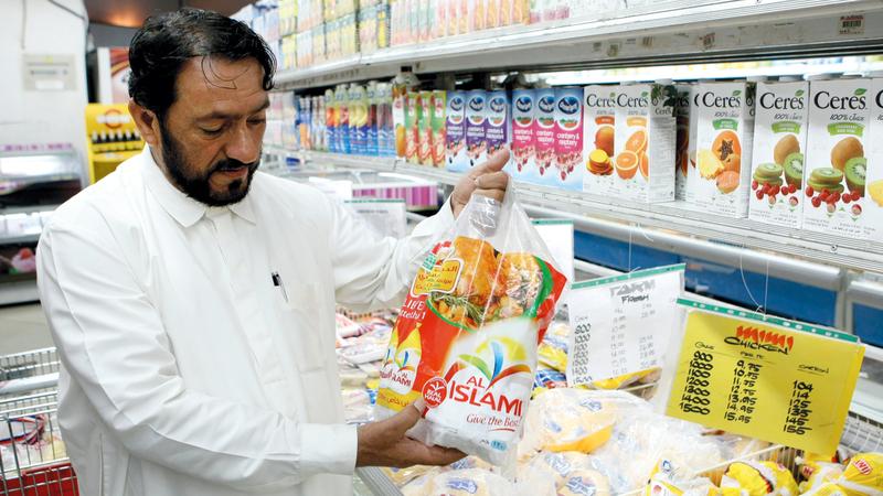 شركات الأغذية الإماراتية حاصلة على شهادات جودة عالمية أهّلتها للتصدير إلى أسواق مختلفة. أرشيفية