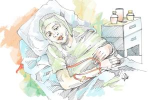 الصورة: «أم ناصر» تعاني سرطان الثدي وبحاجة   إلى أدوية بـ 8000 درهم شهرياً
