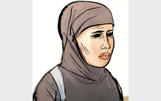 الصورة: «أم يوسف» تعاني السرطان وتحتاج إلى 32 ألف درهم كلفة فحوص وعلاج