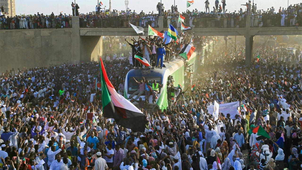 Image result for السودان ساحة الحرية حشود ذكرى ثورة ديسمبر