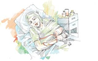 الصورة: متبرعة تسدّد 41.7 ألف درهم كلفة أدوية «أم ناصر»