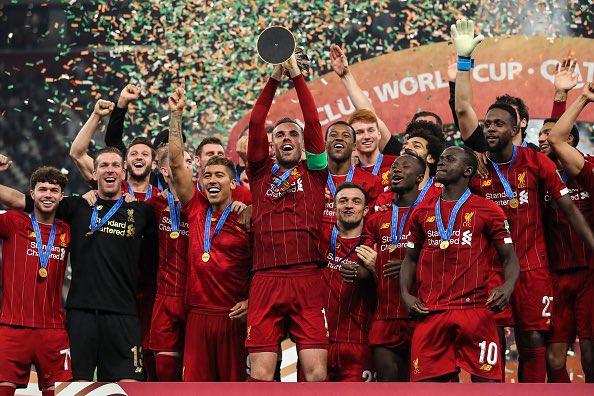ليفربول فاز بثلاث بطولات في 2019