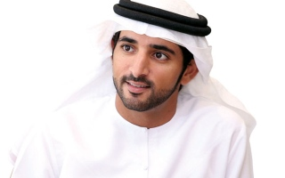 الصورة: حمدان بن محمد يعلن المراكز الثلاثة الأولى لسعادة المتعاملين وموظفي حكومة دبي