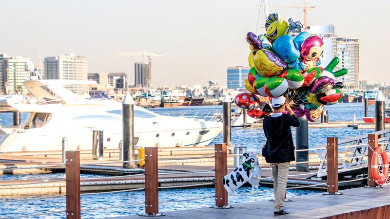 دبي ستشهد حفلاً افتتاحياً مبهراً ويستمر المهرجان حتى الأول من فبراير 2020. الإمارات اليوم