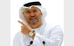 الصورة: قرقاش: قطر نصف خطوة للأمام واثنتان للوراء
