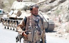 الصورة: القوات المشتركة تدخل وادي صبيرة وتحرّر «البدة» شمال الضالع