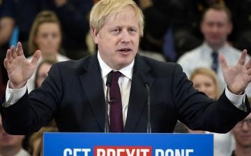 الصورة: «رسالة حب» لبريطانيا من المفوضية الأوروبية قبيل «بريكست»