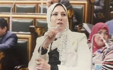 """الصورة: """"نائبة ضرب النار"""" تسلم سلاحها وتعتذر.. والأمن المصري يٌلغي ترخيصها"""