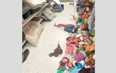 الصورة: بائعة تشتكي فوضى المتسوقين في المواسم والأعياد