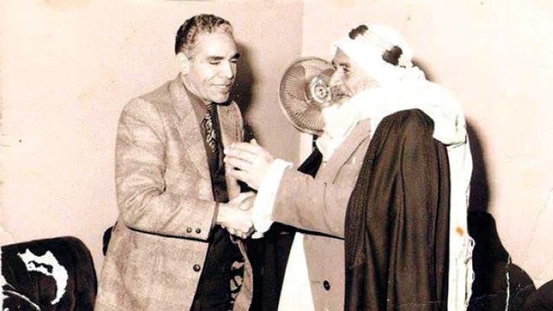 سالم الهرش تبرّع بالمكافأة التي حصل عليها للمجهود الحربي. أرشيفية