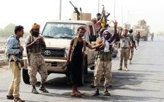 الصورة: القوات المشتركة تسيطر علــى أجزاء كبيرة من مثلث البرح غرب محافظـة تعز