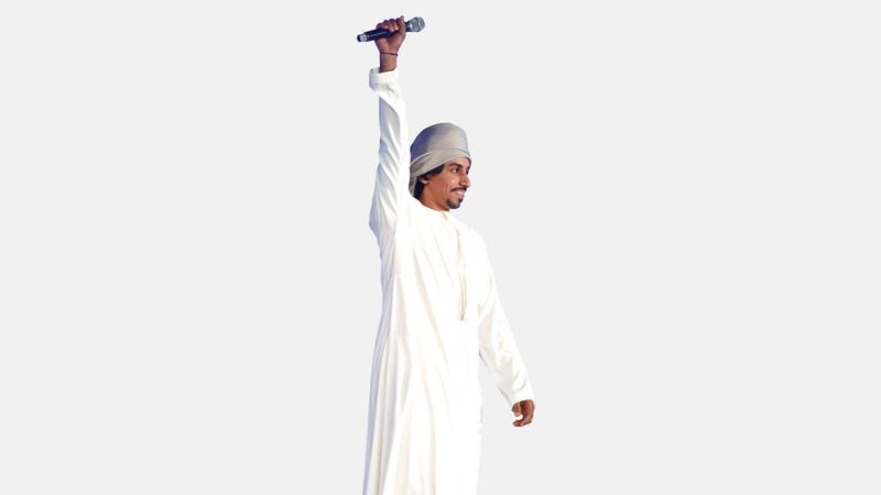 الوهيبي من سلطنة عُمان تأهل للمركز الثاني. من المصدر
