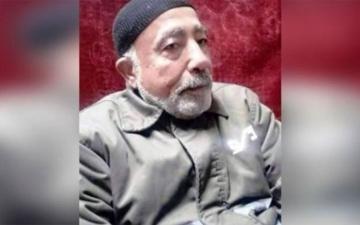 الصورة: فؤاد الشوبكي.. أكبر المعتقلين سنا عاجز عن الحركة في سجون الاحتلال