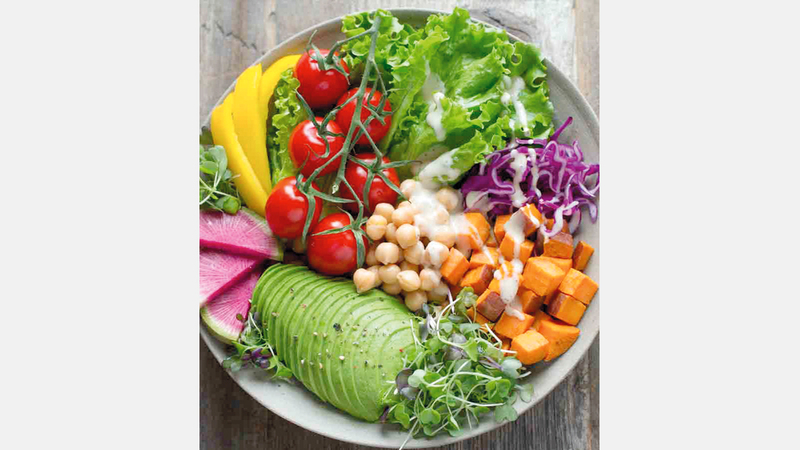 أطعمة للنباتيين.