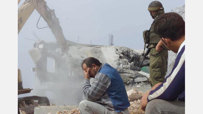 إسرائيل هدمت 617 مبنى في الضفة الغربية بما فيها القدس الشرقية خلال عام 2019.