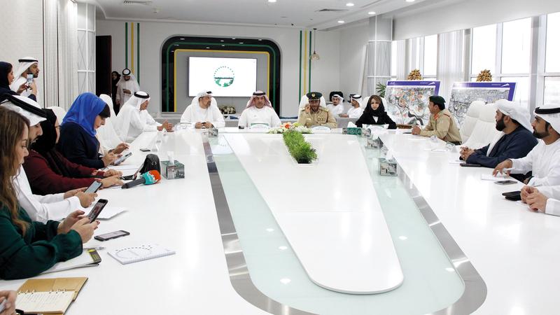 لجنة تأمين الفعاليات في دبي تعلن خطتها لتأمين احتفالات العام الجديد. من المصدر