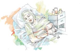 الصورة: 6 متبرعين يسددون 53.4 ألف درهم لعلاج «سليمة»