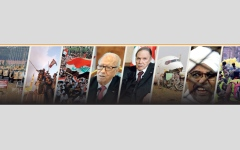 الصورة: 2019 عام الاضطرابات والنزاعات عبر العالم.. العراق.. 3 أشهر من الحراك الشعبي والتناحر السياسي