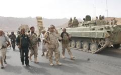 الصورة: عمليتان نوعيتان للقوات المشتــــركة والجنوبية في الضالع ضمن «صمود الجبــــال»